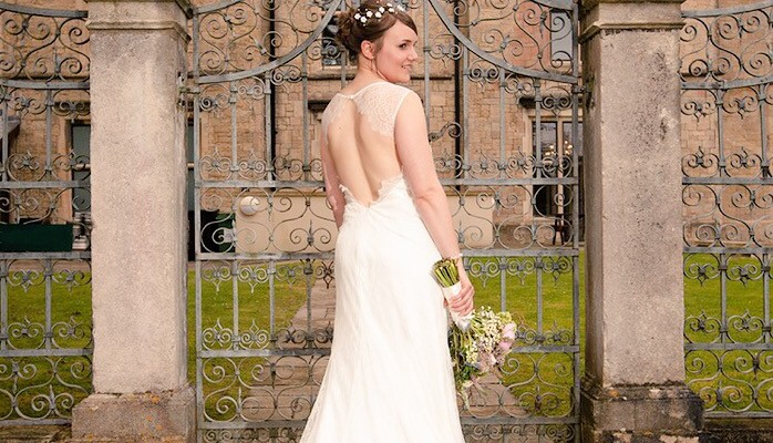 Real Bride Hannah, Dress from Sarah ELizabeth Bridal Boutique, wedding dress shop in Cheltenham