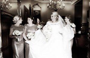 Real Bride at Sarah Elizabeth Bridal