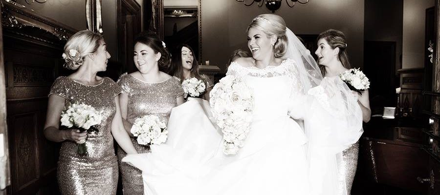 Real Bride at Sarah Elizabeth Bridal